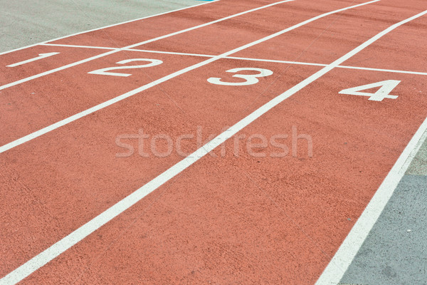 Racing track Stock photo © trgowanlock