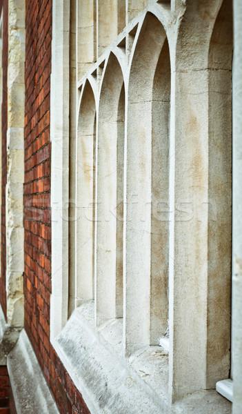 ストックフォト: ゴシック · 窓 · ウィンドウ · 英語 · 家