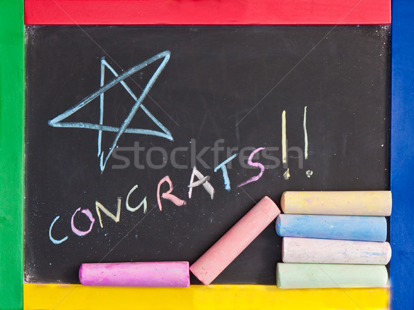 Congratulations Stock photo © trgowanlock