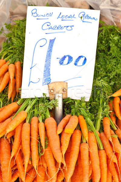 Carrots Stock photo © trgowanlock