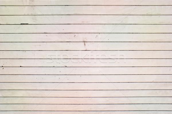 Metal branco superfície metálica parede aço padrão Foto stock © trgowanlock
