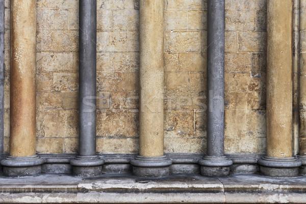 Gothic architettura costruzione muro sfondo finestra Foto d'archivio © trgowanlock