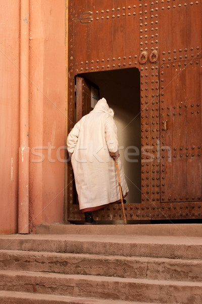 moroccan man Stock photo © trgowanlock