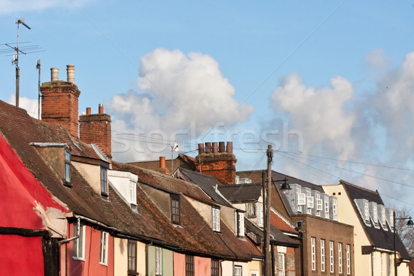 suffolk rooftops Stock photo © trgowanlock