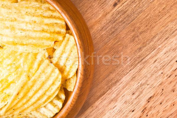 Crisps Stock photo © trgowanlock