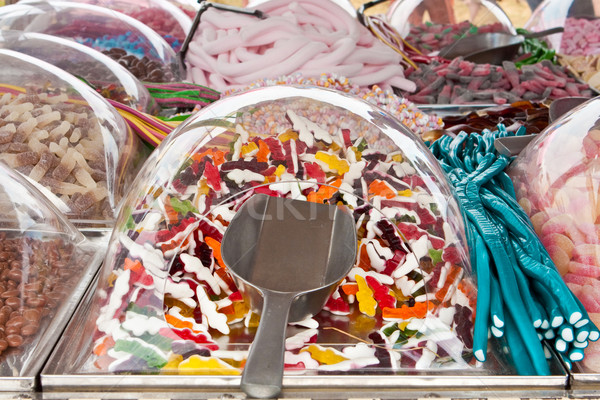 Pic n Mix jelly sweets Stock photo © trgowanlock