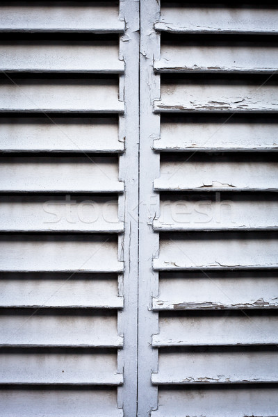 Wooden shutters Stock photo © trgowanlock