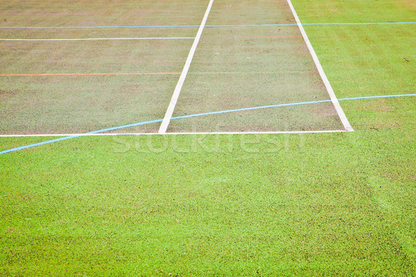 Tennis court Stock photo © trgowanlock