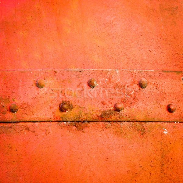 металл ржавые строительство пластина фон Сток-фото © trgowanlock