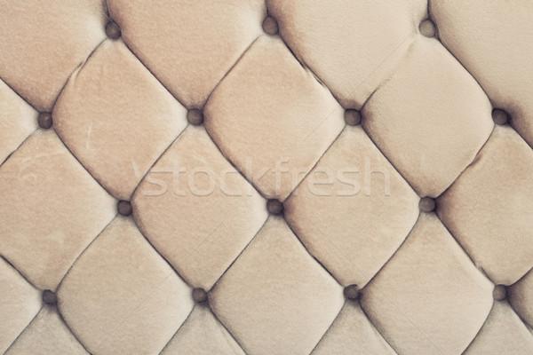 Retro gedetailleerd afbeelding textuur stoel Stockfoto © trgowanlock