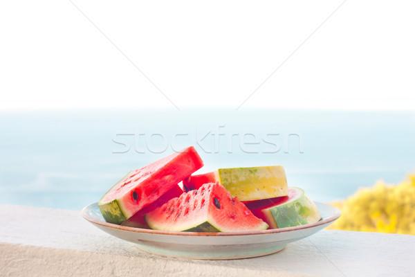 Water melon Stock photo © trgowanlock