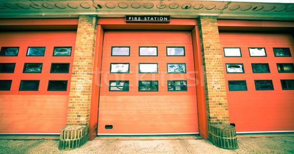 Fire station Stock photo © trgowanlock