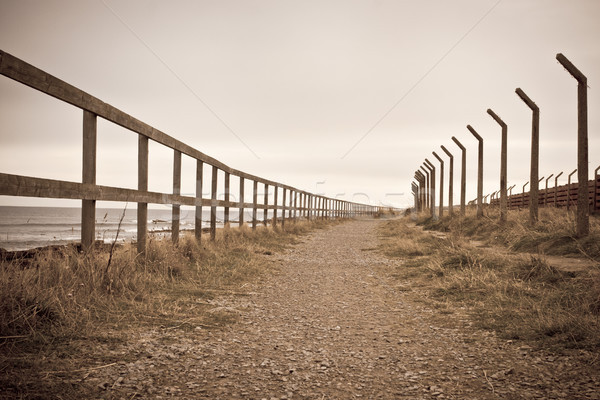 Stock photo: Disused path