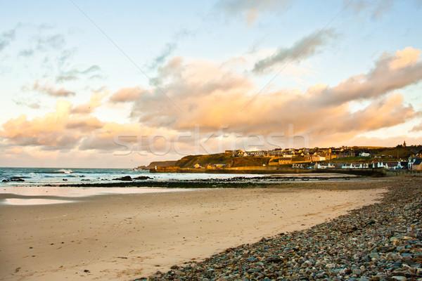 Cullen beach Stock photo © trgowanlock