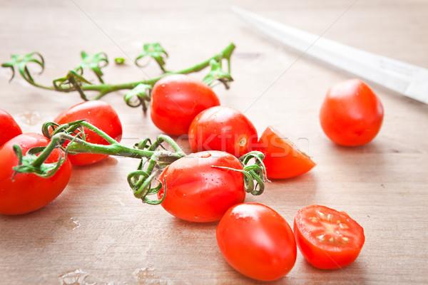 Cherry tomatoes Stock photo © trgowanlock