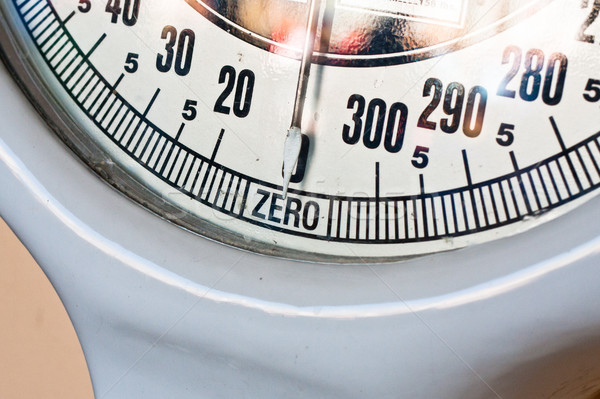 Весы набирать номер ретро набор стороны Сток-фото © trgowanlock