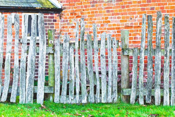 Rickety fence Stock photo © trgowanlock
