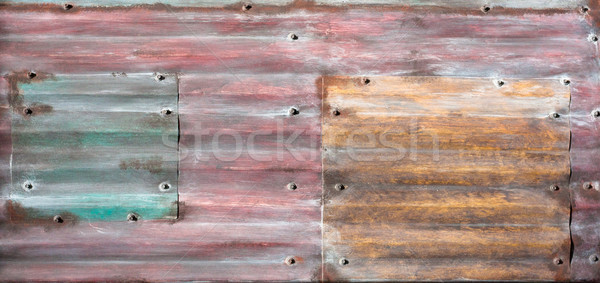 Metal background Stock photo © trgowanlock