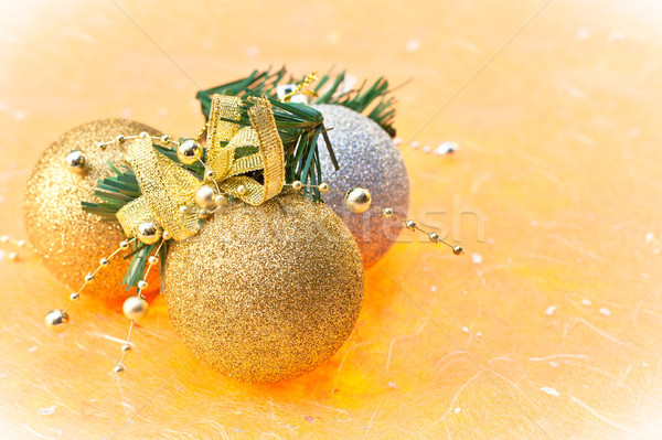 Christmas bawbles Stock photo © trgowanlock