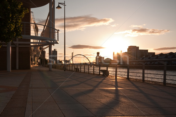 glasgow promenade Stock photo © trgowanlock