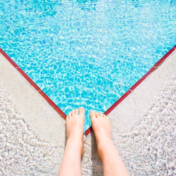 Swimming pool Stock photo © trgowanlock