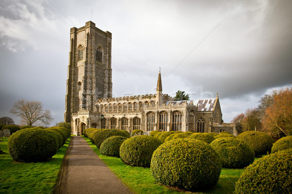 Lavenham church Stock photo © trgowanlock