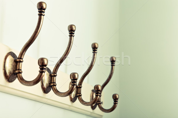Coat hooks Stock photo © trgowanlock