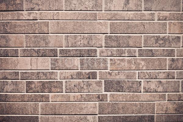 Muur keurig moderne muur achtergrond patroon Stockfoto © trgowanlock