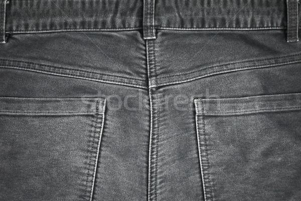Pantaloni indietro coppia nero sfondo Foto d'archivio © trgowanlock