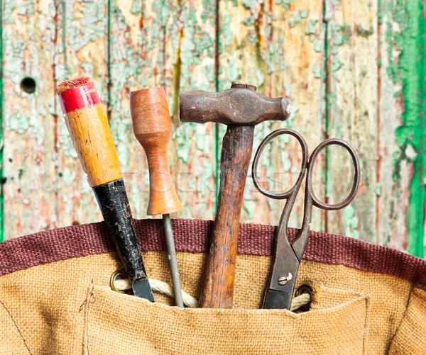 Old tools Stock photo © trgowanlock