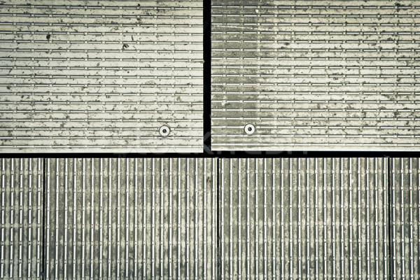 Metal detalhado imagem indústria industrial padrão Foto stock © trgowanlock