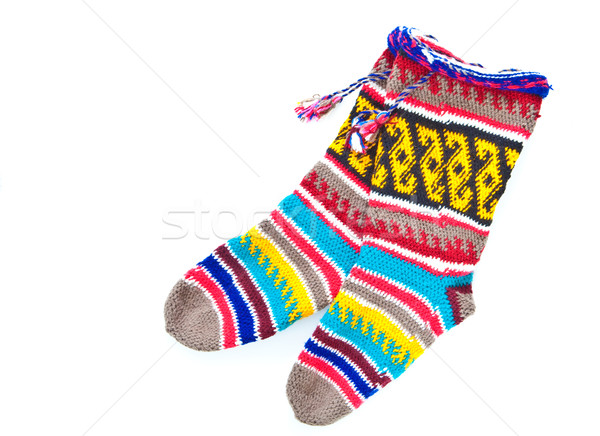 Woollen stockings Stock photo © trgowanlock