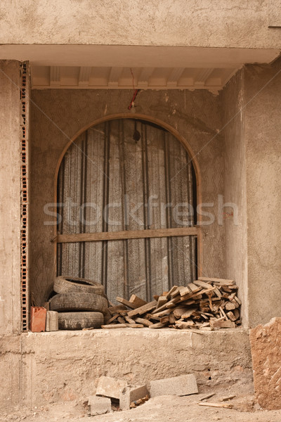 Derelict window Stock photo © trgowanlock