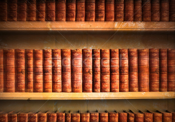 Old library Stock photo © trgowanlock