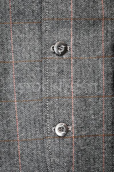 Resmi ceket düğmeler takım elbise moda Stok fotoğraf © trgowanlock