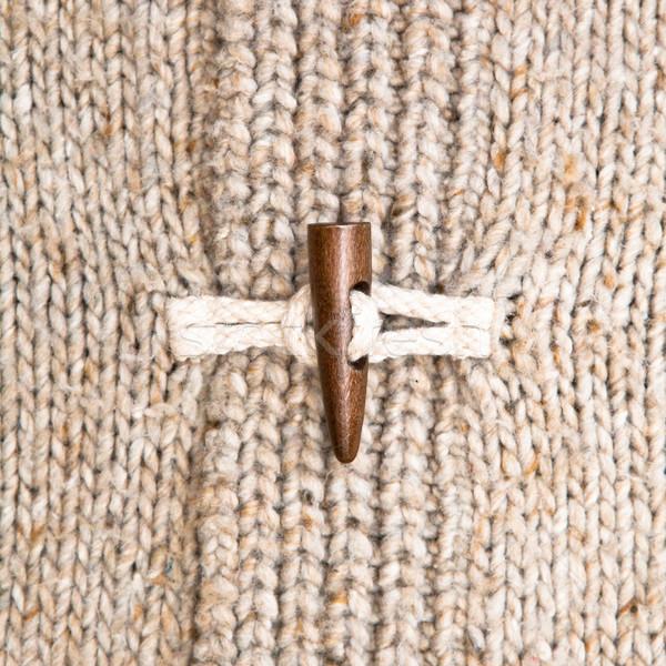 Warm winter hout mode najaar Stockfoto © trgowanlock