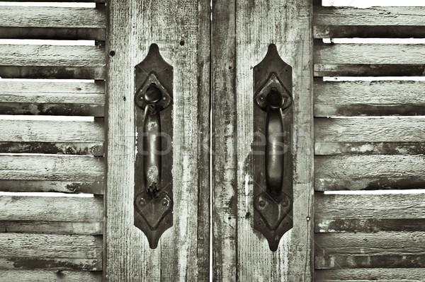 Shutters Stock photo © trgowanlock