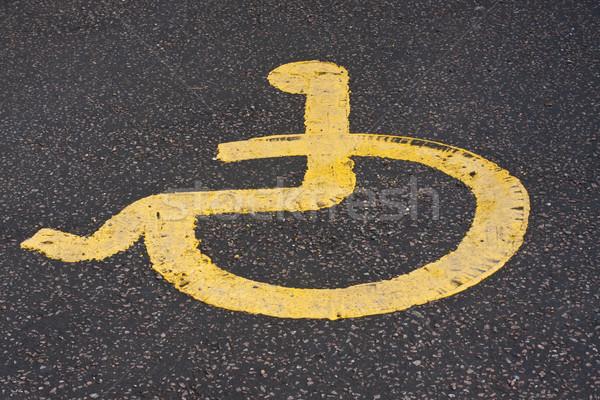 disabled sign Stock photo © trgowanlock