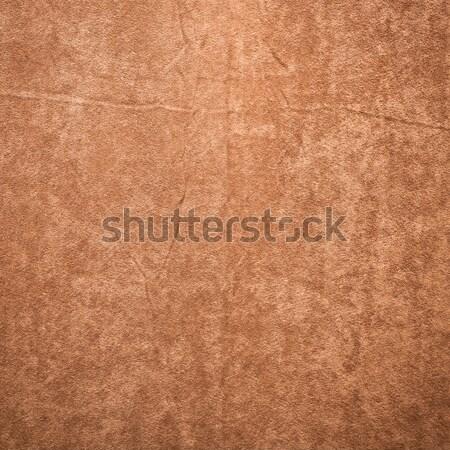 Barna anyag mintázott textúra háttér függöny Stock fotó © trgowanlock