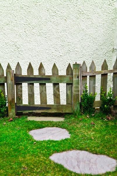 Picket fence Stock photo © trgowanlock