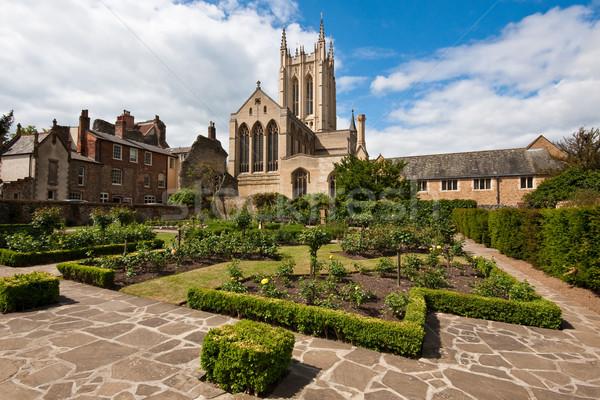 St Edmundsbury Cathedral Stock photo © trgowanlock