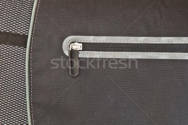 çanta kapalı modern naylon dizüstü bilgisayar moda Stok fotoğraf © trgowanlock
