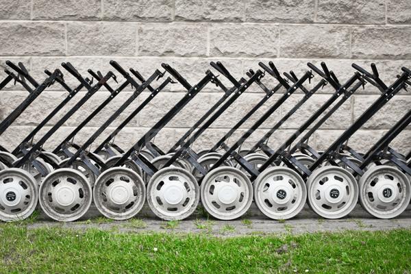 Golf carts Stock photo © trgowanlock