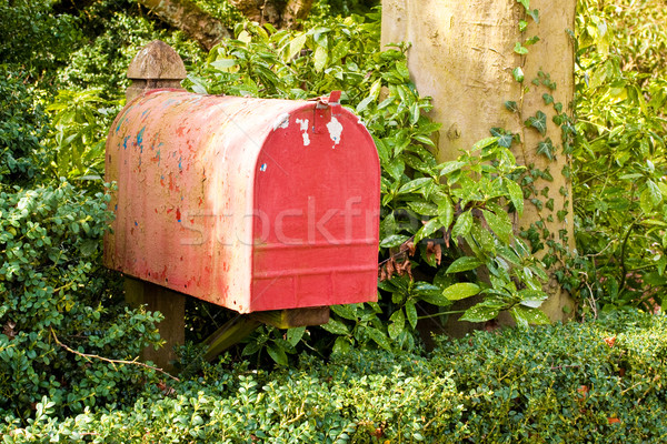letterbox Stock photo © trgowanlock