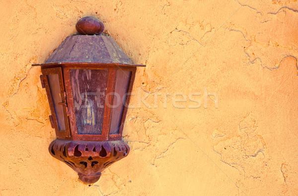 Old lantern Stock photo © trgowanlock
