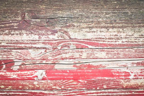 Fa piros festett részletes kép textúra Stock fotó © trgowanlock