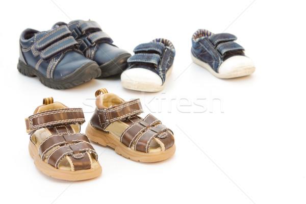 Childs shoes Stock photo © trgowanlock