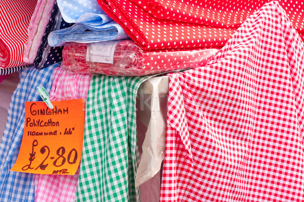 Gingham cloths Stock photo © trgowanlock