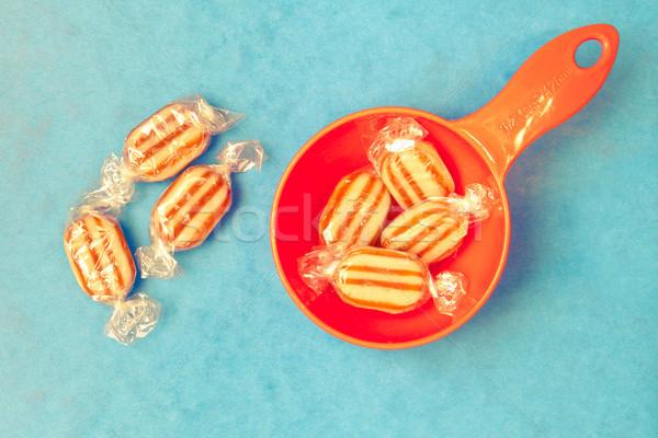 Humbug sweets Stock photo © trgowanlock
