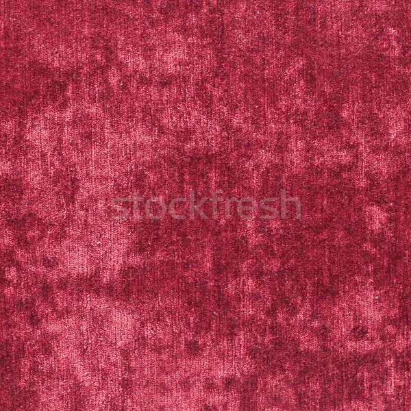 Piros bársony ruha részletes kép textúra Stock fotó © trgowanlock